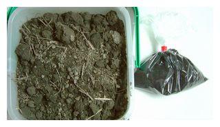 飼料米栽培用の土と肥料