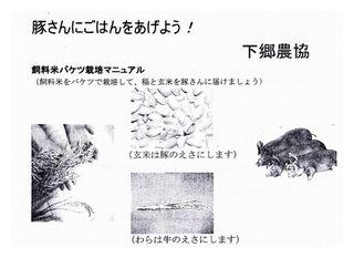 飼料米栽培マニュアル